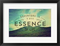 Framed Essence Of Life