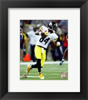 Framed Antonio Brown 2015 Action