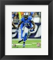 Framed Calvin Johnson 2015 Action