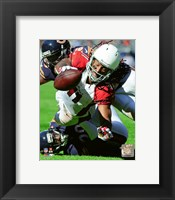 Framed Larry Fitzgerald 2015 Action
