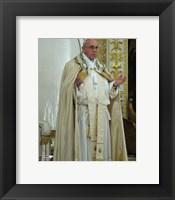 Framed Pope Francis