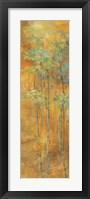 Framed Golden Bamboo II
