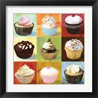 Framed Cupcake 9-Patch