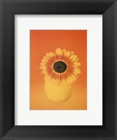Framed Single Sunflower