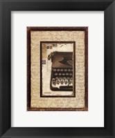 Framed Dactylo II