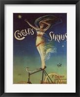 Framed Sirius Cycles