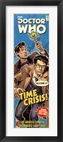 Framed Doctor Who - Time Crisis Comic Code