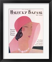 Framed Harper's Bazaar May 1930