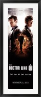Framed Doctor Who - Day of the Doctor N