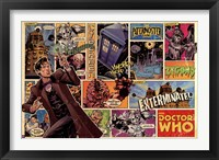Framed Doctor Who - Comic Strip