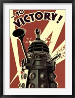 Framed Doctor Who - Dalek To Victory