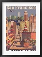 Framed Fly to San Francisco I