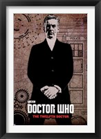 Framed Doctor Who - Peter Capaldi Graff