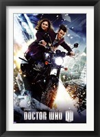 Framed Doctor Who - Bike