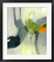 Framed Green Bird