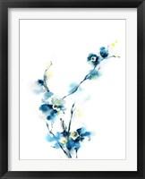 Framed Blue Blossoms