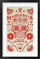 Framed Margarita Recipe