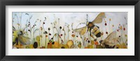 Framed Summer Bees