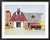 Barn No. 2 Framed Print