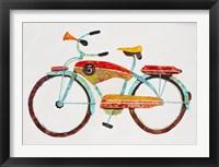Bike No. 5 Framed Print