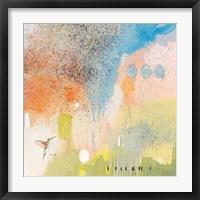 Hummingbird at Home 1 Framed Print