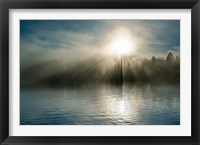 Framed Rising above the Water