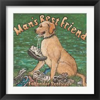 Framed Man's Best Friend