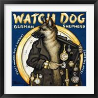 Framed Watch Dog