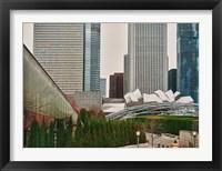 Framed Chicago 350