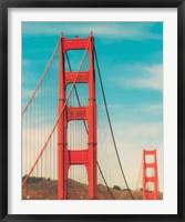 Framed Golden Gate in The Morning
