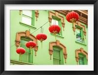 Framed Lanterns In The Wind
