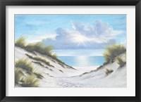 Framed Sand and Sea