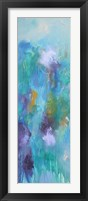 Walking In Colors Two Framed Print