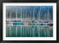 Framed Hout Bay Harbor, Hout Bay South Africa