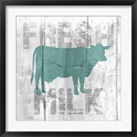 Fresh Milk Framed Print