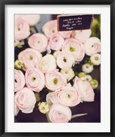 Framed Flower Market