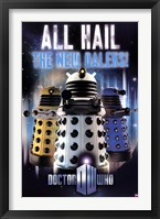 Framed Doctor Who - All Hail The New Daleks