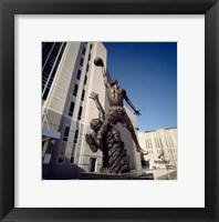 Framed Michael Jordan Statue, United Center, Chicago