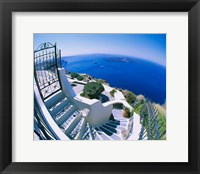 Framed Santorini, Greece