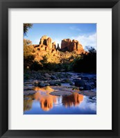 Framed Cathedral Rock, Sedona, AZ