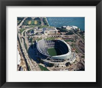 Framed Soldier Field, Chicago
