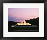 Framed Mecom Fountain, Houston, Texas