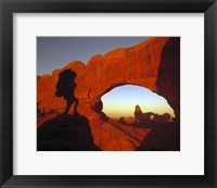 Framed Mountaineering Arches National Park, UT