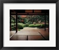 Framed Shisendo, Kyoto Prefecture, Honshu, Japan