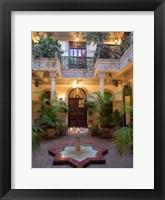 Framed Villa des Orangers Hotel, Marrakesh, Morocco