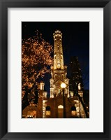 Framed Old Water Tower, Chicago, Illinois