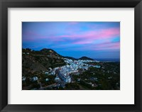 Framed Frigiliana, Costa del Sol, Malaga Province, Andalucoa, Spain