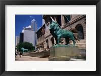 Framed Art Institute of Chicago