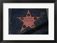 Framed Hollywood Walk of Fame Star, Los Angeles, CA