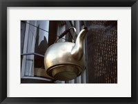 Framed Scollay Square Tea Kettle, Government Center, Boston